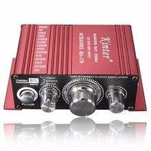 2016 Nuevo Mini Hi-Fi Stereo Amplificador de $ NUMBER CANALES Amplificador de DVD MP3 Altavoz para Coche de La Motocicleta En Casa