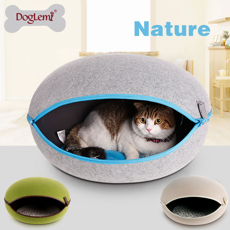 Pet Egg House Heated Cat Bed Cute