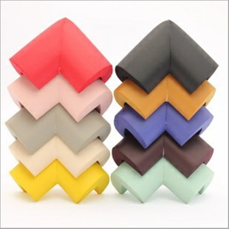 8PCS/set  Silicone Table Desk Corner Edge Angle Cover Guards Safe Protector Baby Children Infant Safety Protection