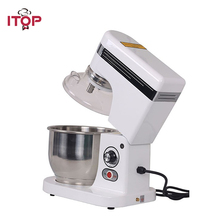 ITOP Commercial 5L Tilt-Head Design Food Mixer Professional Food Processors Blender Egg Beater Kitchen Tools itop commercial professional juicer ice crusher blender multifunctional kitchen appliance food mixer