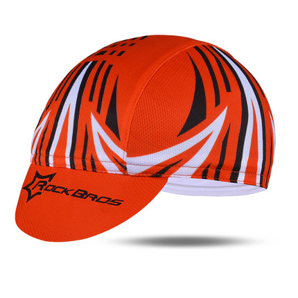 ROCKBROS Мужская велосипедная Кепка для горного велосипеда, велосипедная командная Кепка, дышащие спортивные солнцезащитные кепки для активного отдыха, 7 цветов - Цвет: Red