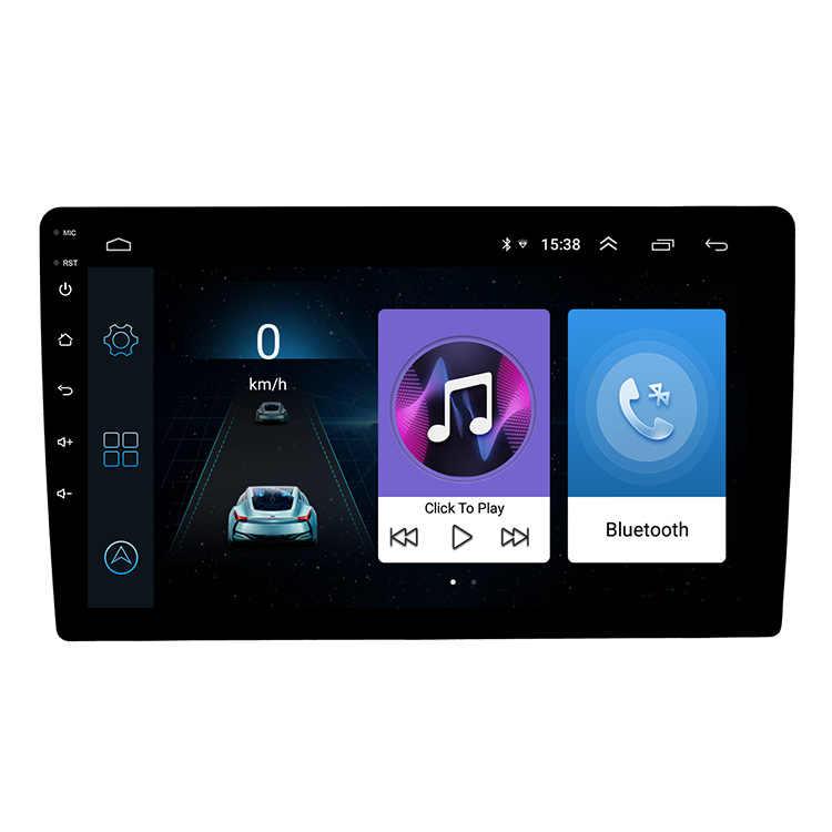 Unidad Principal de navegación Universal Multimedia GPS para coche Android 8,1 de 9 pulgadas para cualquier modelo de coche con parte trasera delgada
