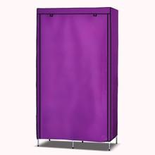 The new mini-fashion simple cloth wardrobe hanging moisture-proof metal reinforcement Single hanger