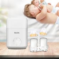 Double Bottle Milk Warmer Disinfection Constant Temperature Multifunctional Milk Bottle Sterilizer Heater Baby Daily Necessities