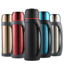 2000ml,2.2L Stainless Steel insulated Thermos Bottle Thermo cup Travel Coffee Mug Thermal vaccum water bottle Car Kettle