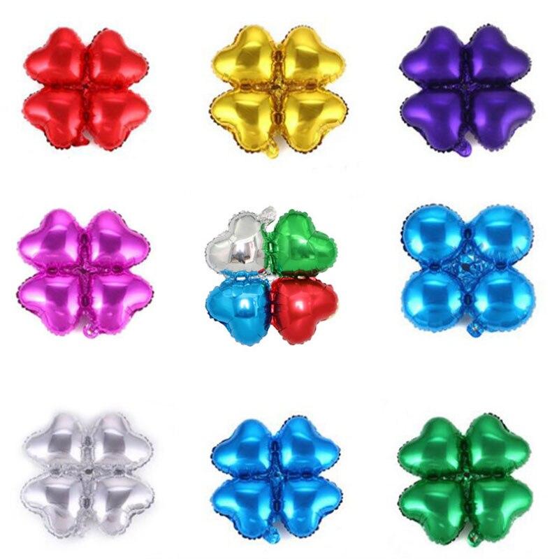 10PCS 18inch Flowers Balloons Aluminum Foil Wedding Birthday Party Decoration Helium Ball Children Gifts Decor