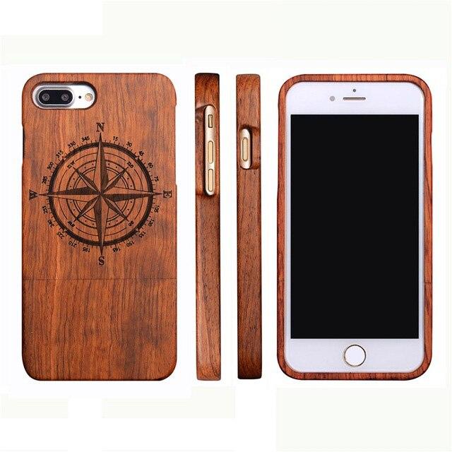 Retro Wood Fashion Sytles X 8 շքեղ բնական բամբուկե - Բջջային հեռախոսի պարագաներ և պահեստամասեր - Լուսանկար 4