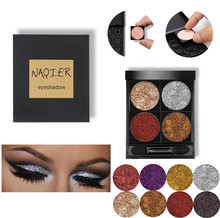 eyeshadow pallete Nude matte glitter powder shadows