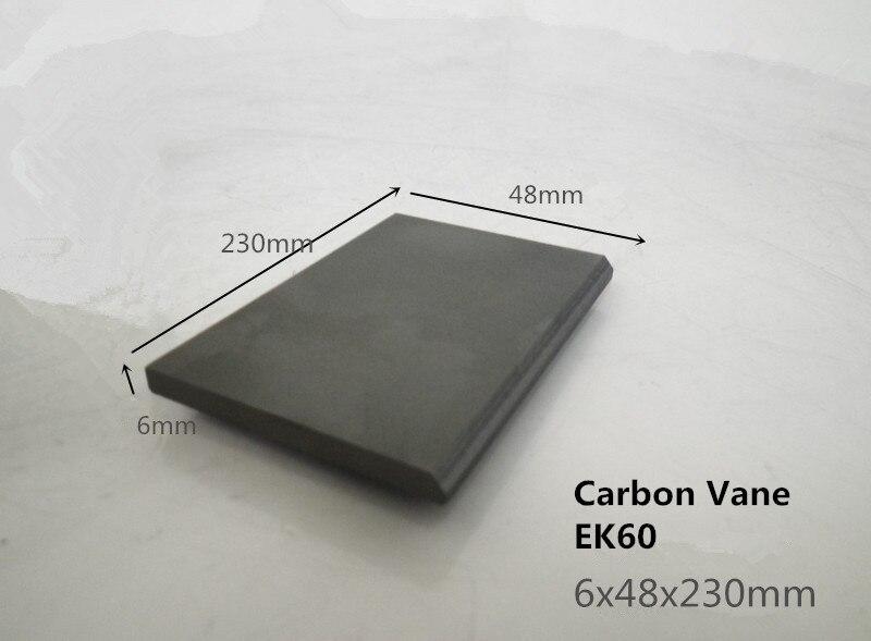 6*48*230 mm  Carbon Vane  for Vacuum Pump        /Graphite plate Block for  vacuum pump becker 6 48 230 mm carbon vane for vacuum pump graphite plate block for vacuum pump becker