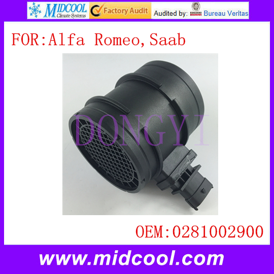 MIDCOOL Mass Air Flow Sensor use OE No. 0281002900 0281002764 0281006048 0281002763