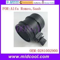 Novo uso Do Sensor de Fluxo De Massa de Ar OE N ° 0281002900  0281002764  0281006048  0281002763 55190587 105 127 E2 551905870 69503670 oes     -