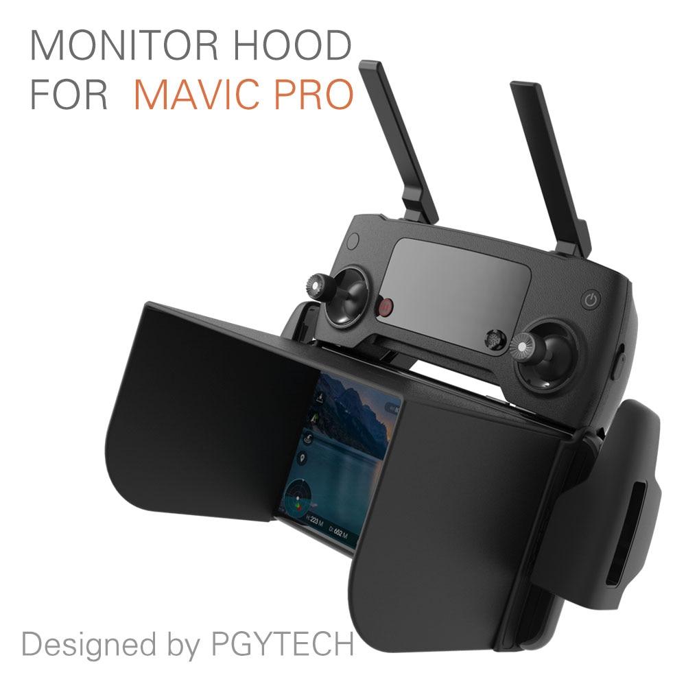 PGYTECH monitor hood series for mavic pro Phantom 4 RC inspire M600 osmo products Sunshade Phone Sun fpv parts