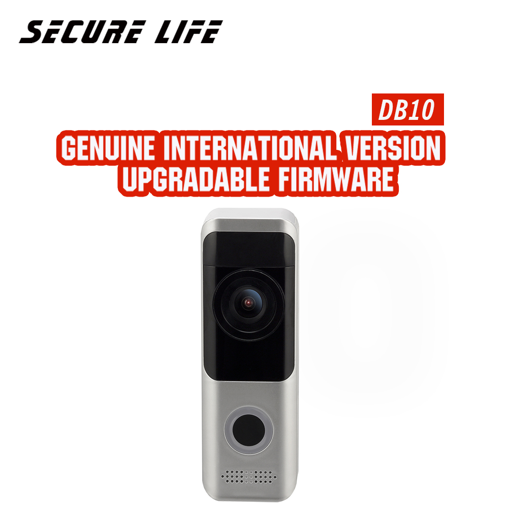 English Version Battery Video Doorbell DB10 HD Video With Two-way Talk Wire-free Installation And Wi-Fi Connection
