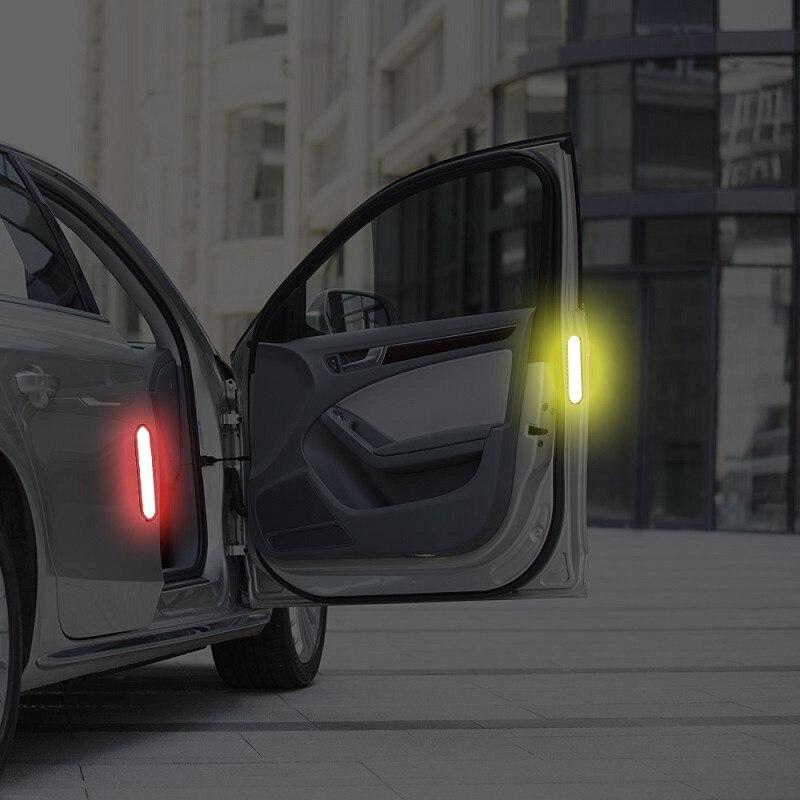 Car Door Reflective Sticker Warning Tape Car Reflective Stickers Safety Mark Reflective Strips Car-styli (2)
