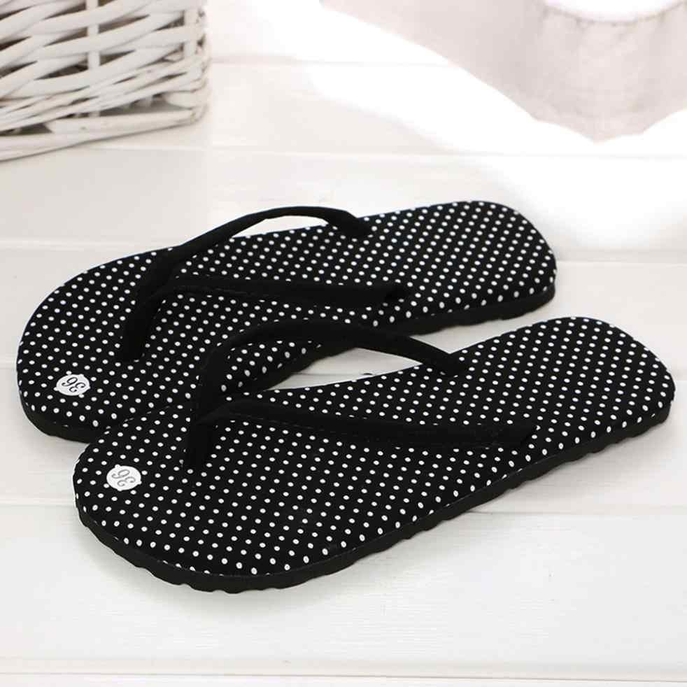Frauen Sommer Flip-Flops Schuhe Sandalen Slipper indoor & outdoor Flip-Flops 2018 dame schiefer strand sommer schuhe für frauen chinelo