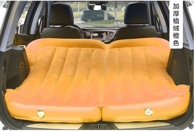 Автомобиль надувной матрас внедорожник багажник вагон автомобильные аксессуары Универсальный - Название цвета: Оранжевый
