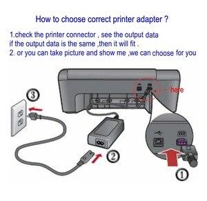 Image 4 - 0957 2231 32V 375mA 16V500mA ładowarka sieciowa do drukarki HP Photosmart C4380 C4382 C4383 C4384 All in One