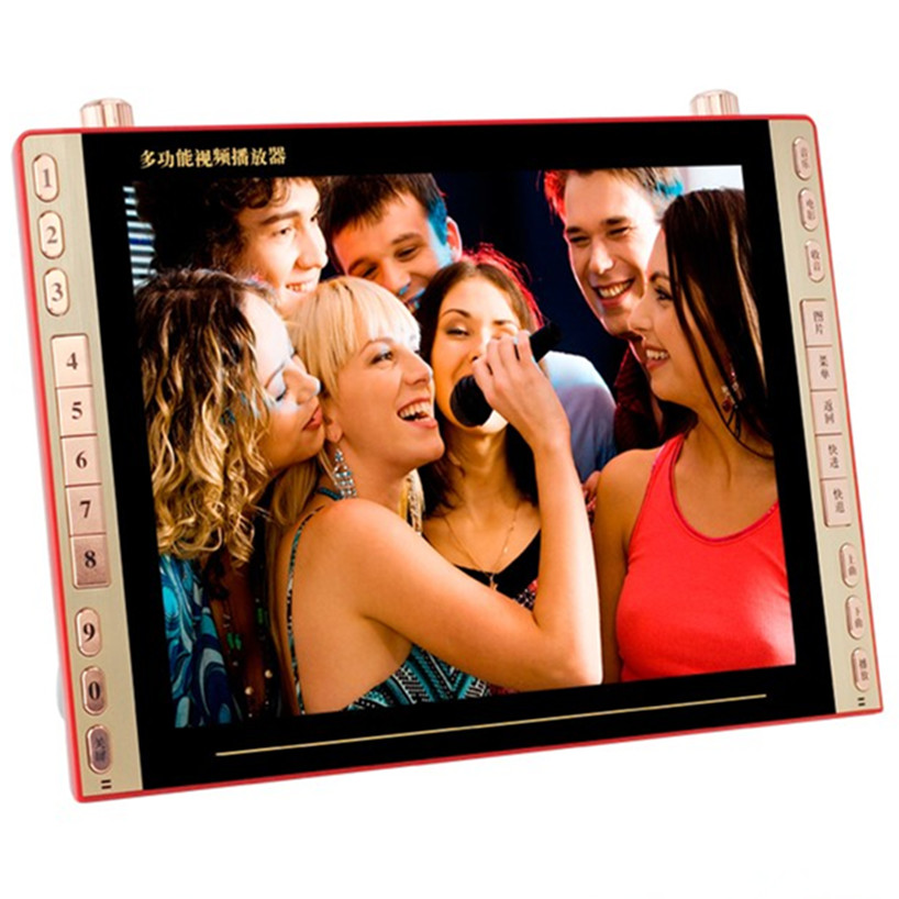 DVD player movie 23 inch VCD EVD HD video player Elderly Square Dance TV Radio Speaker