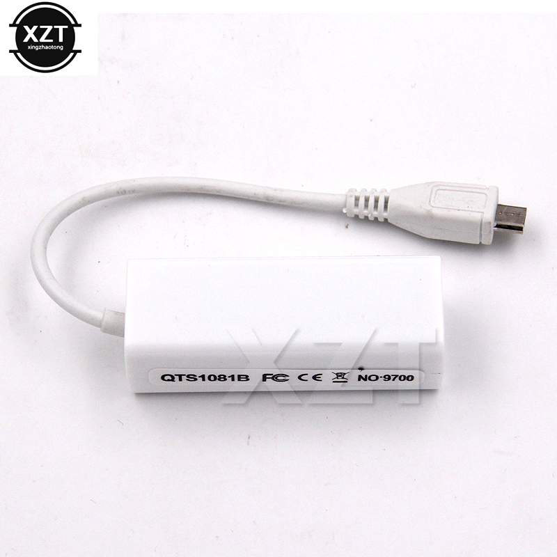 Micro USB 5 Pin 10//100 Mbps RJ45 LAN Ethernet Adapter for Tablet PC