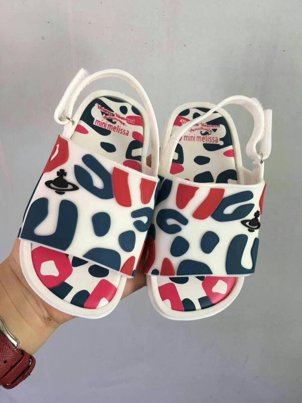 2018 new mini melissa sandals shoes cartoon kids shoes 3 color Girls boys casual cute beach shoes Childrens Sandals soft Zapato