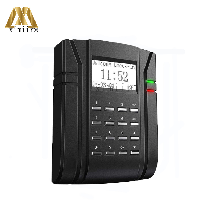 Free Shipping 13.56MHZ MF IC Card Access Control And Time Attendance With Keypad ZK SC203 Door Access Control System With TCP/IP