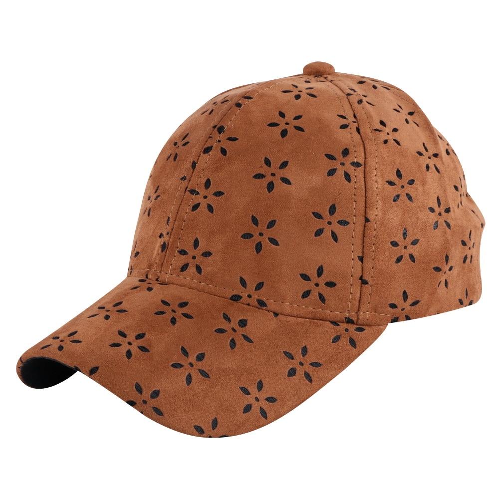 Prix pour Bonne qualité en cuir hommes femmes marque casquette de baseball brun noir solide couleur Respirant chapeau d'été garçon fille hip hop snapback chapeaux