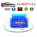 Super Mini ELM327 V2.1 Bluetooth OBD2 Car Vehicle Diagnostic Tool Mini ELM 327 V2.1 For Multi-brand CANBUS Support OBD2 Protocol
