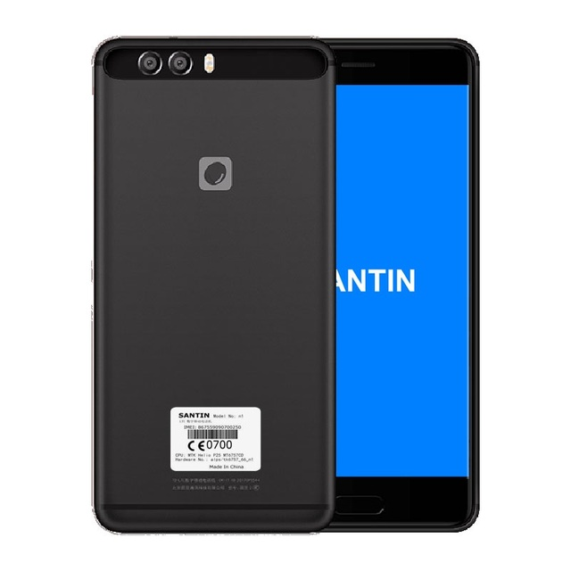 "SANTIN n1 Phone 16MP 4GB RAM 64GB ROM NFC Octa core 5.5"" FHD Octa Core 4G Mobies LTE Phone 4G Android metalphone pro 7 mix 2"