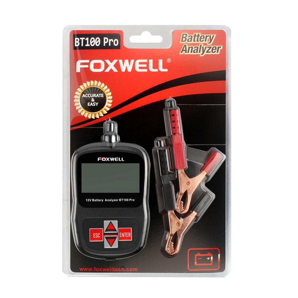 Foxwell BT100 PRO Car Battery Tester 12V-15