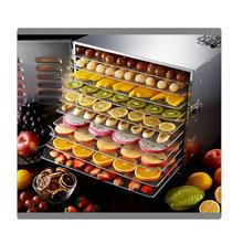 220V stainless steel food dehydrator