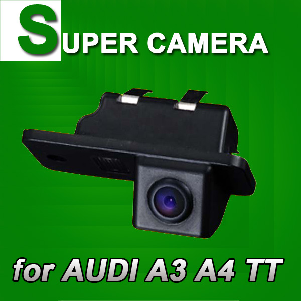 För Sony CCD AUDI A3 A4 TT Bil bakifrån parkering parkering bakåt upp bilkamera nattvikt vattentät, klar bild