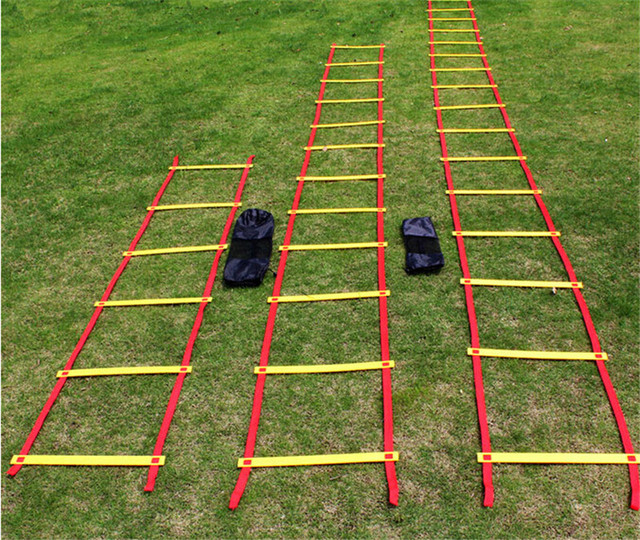 Durable 20 Rung 10m Agility Ladder For Football Speed