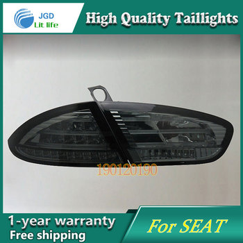 JGD Brand New Styling for Seat Tail Lights 2009-2012 LED Tail Light Rear Lamp LED DRL Singal Car Lights