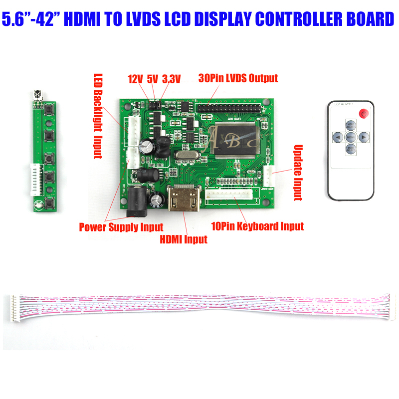Aliexpress Com Buy Hdmi 30p Lvds Led Lcd Controller