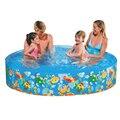 183*38 cm Livre Nenhuma bomba de ar inflável rodada piscina piscina bebê piscina infantil banho de borracha dura de plástico livre piscina inflável
