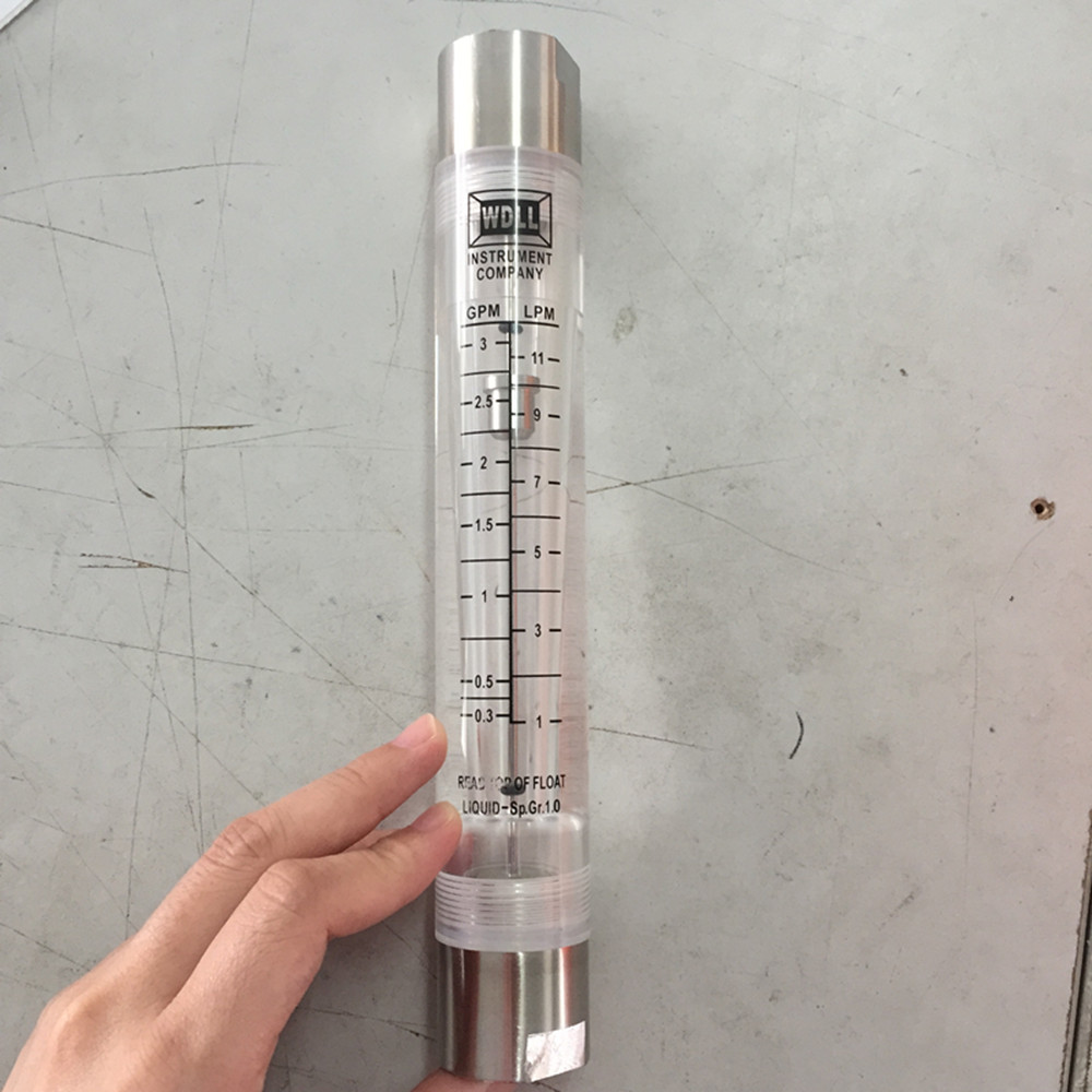 LZM-15G 1-11L /0.3-3GPM Pipeline Flow Meter Flowmeter With Stainless Steel JointLZM-15G 1-11L /0.3-3GPM Pipeline Flow Meter Flowmeter With Stainless Steel Joint