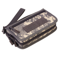 Men Waterproof Nylon Clutch Bag Case Pocket Coin Purse Male Pack Camouflage Wallet Mobile Phone Bags