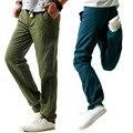 Gris de Algodón de Lino Pantalones de Los Hombres pantalones de chándal de Moda Para Hombre Delgado Pantalones Pantalones de Algodón Pantalones de Jogging Hombres pant ropa gimnasios