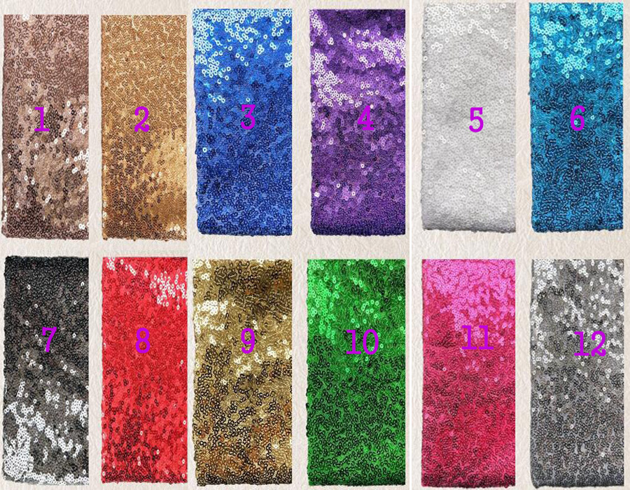 DIY Fabric Chocolate 2 Way Stretch Shiny Solid Colored Rectangle Sequins On Mesh Sewing Materials Costume Fabric Sold By The Yard