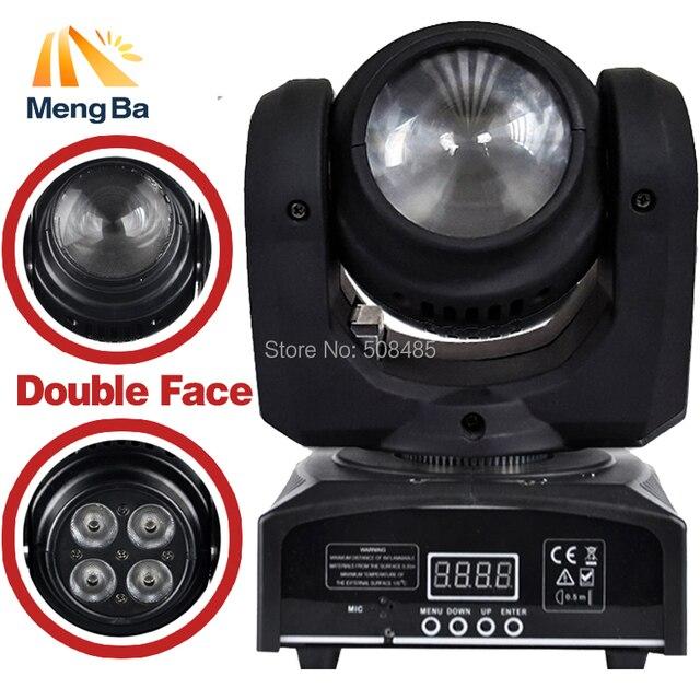 Double Sides LED 1x10w RGBW + 4x10w RGBW Beam/Wash Light DMX512 Moving Head  Light