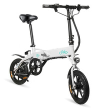 FIIDO D1 Mini Electric Bicycle Dual Disc Brake Aluminum Alloy Smart Folding Electric Bike EU Plug 7.8AH /10.4AH BATTERY