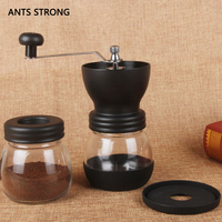 ANTS STRONG fashion sealed manually coffee grinders/family expenses can whole body water wash coffee equipment
