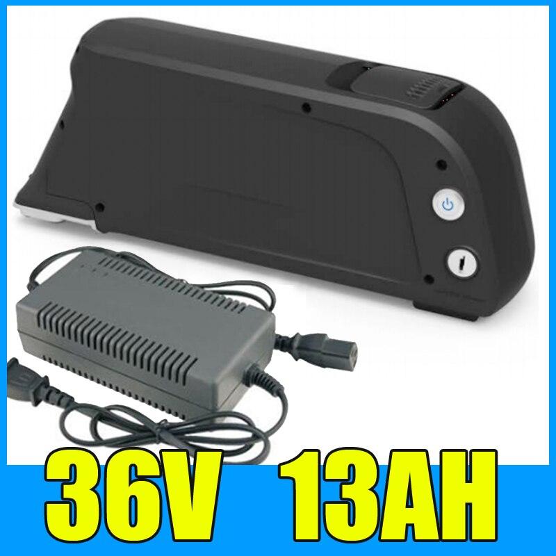 down tube type 36V electric bike Li ion battery 36v 13ah lithium battery 36v 500w ebike li ion akku