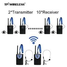 TP-Wireless Custom 2.4GHz Tour Guide Sistema wireless digitale per - Audio e video portatili