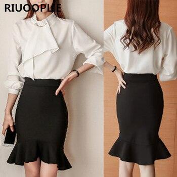 Γυναικεία φούστα με βολάν RIUOOPLIE 2e833c43f97