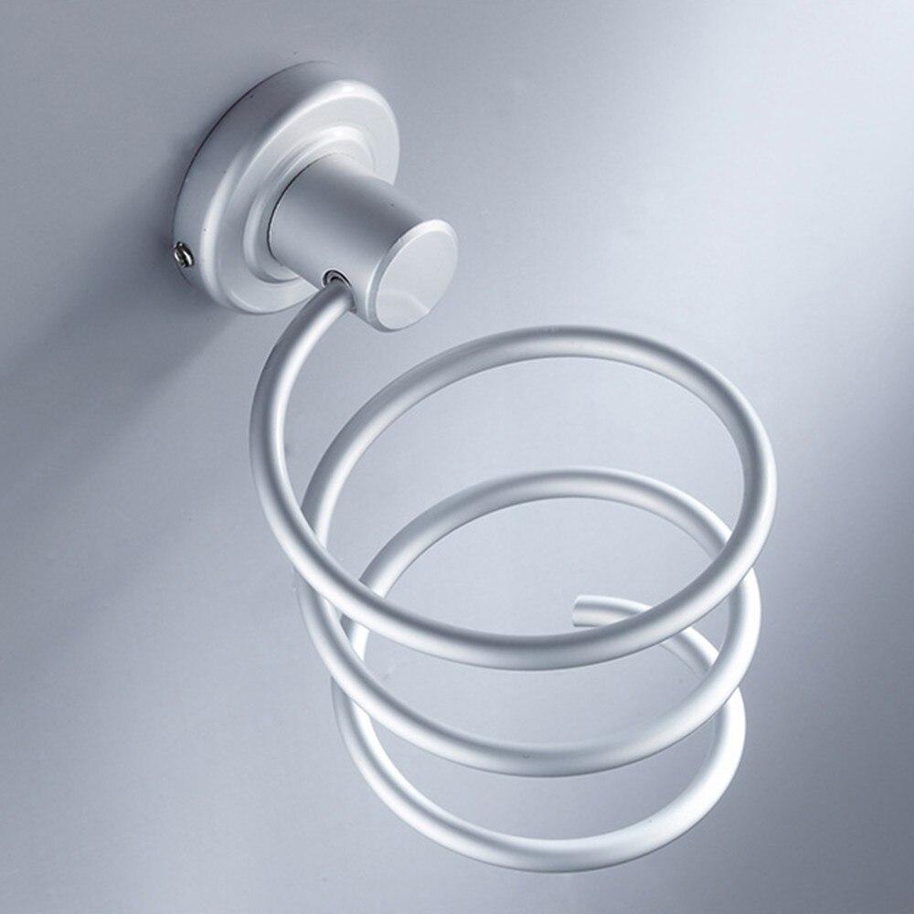 Best Quality Durable Aluminum Blow Hair Dryer Holder Wall Shelf ...
