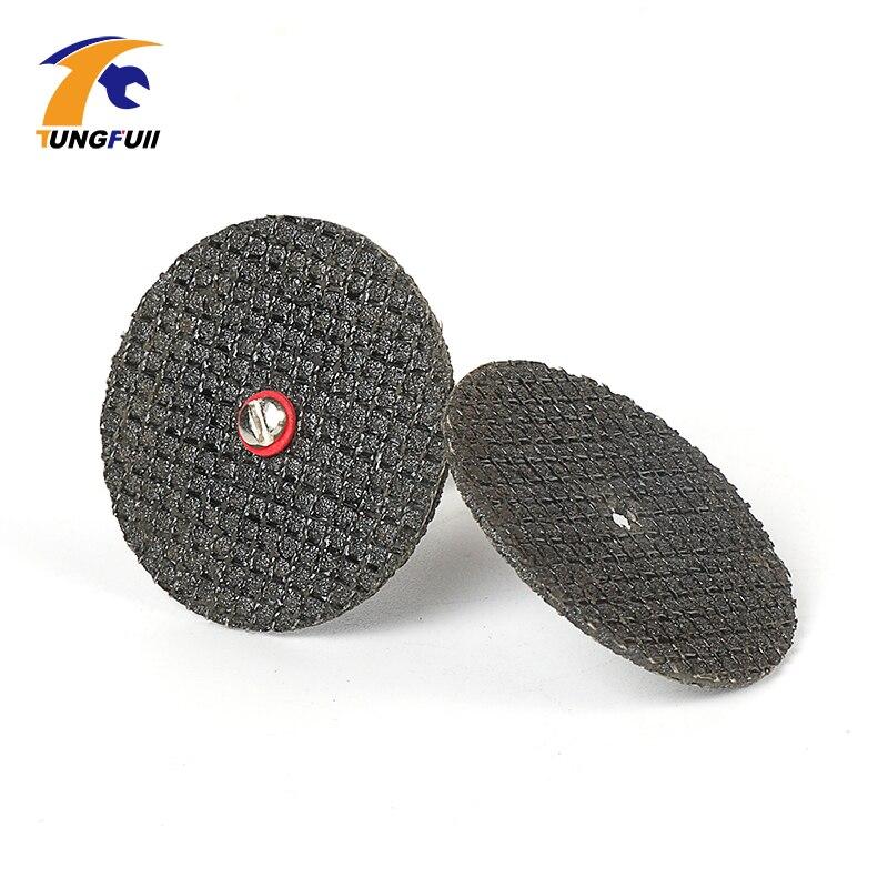 Tungfull 100 pezzi 36mm kit disco di taglio ruota in resina da taglio - Accessori per elettroutensili - Fotografia 5