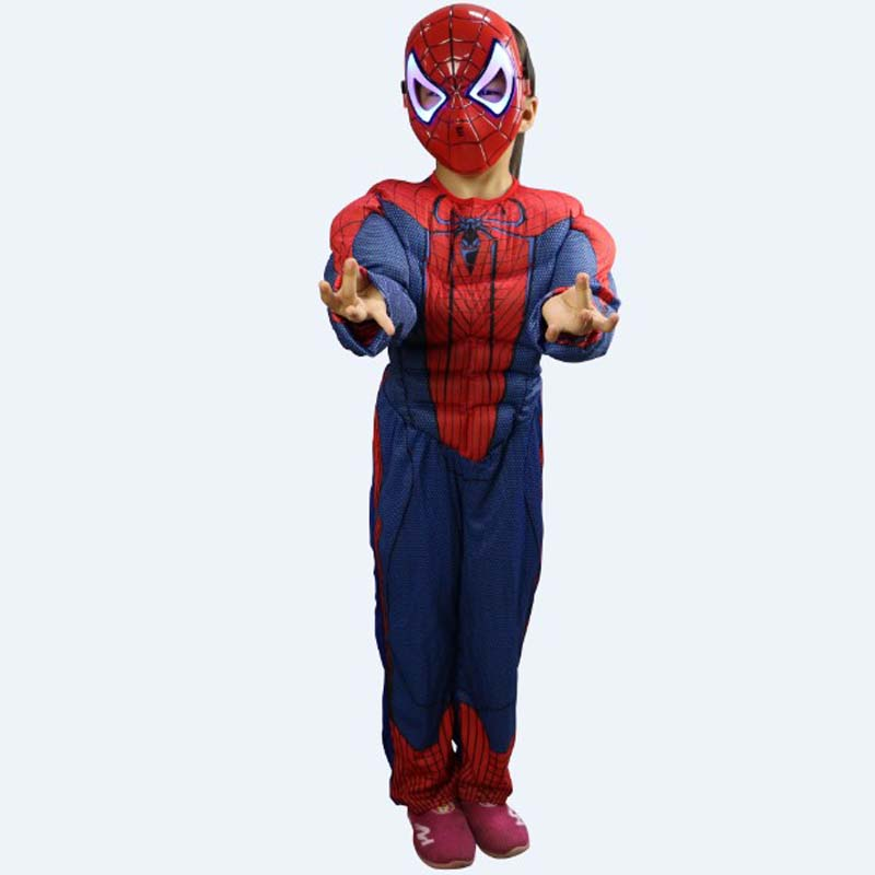 Disfraces Kids Halloween Spider Man Costumes The Avengers Cosplay Children's day Role play Carnival Christmas Purim parade dress