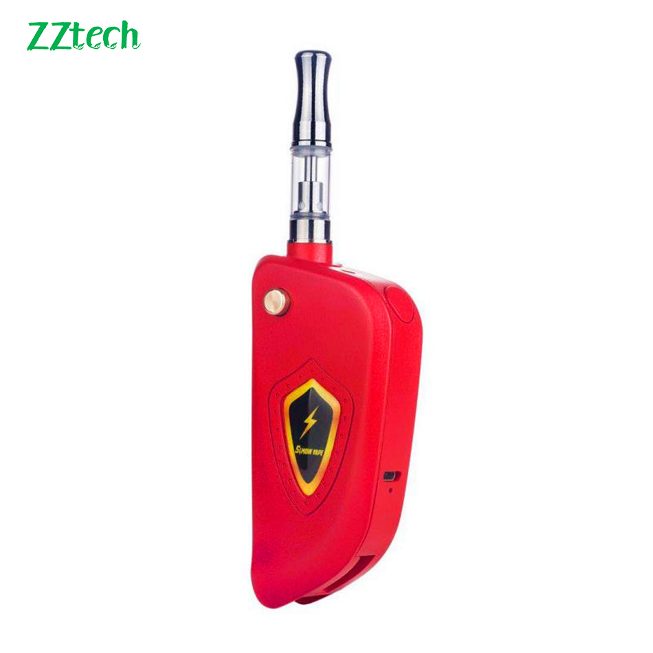 Original New Arrival Zztech 38 Key Chain CBD Mod 650mah Battery Capacity E Cigarette Mod For Most CBD Atomizers Vape Kit Mod