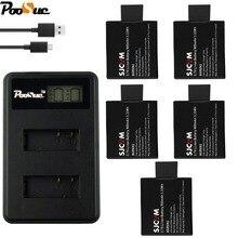 Для SJ4000 sj 7000 батарея двойной lcd USB зарядное устройство SJ7000 для SJCAM SJ4000 wi fi SJ5000 SJ6000 SJ8000 SJ9000 M10 eken 4K